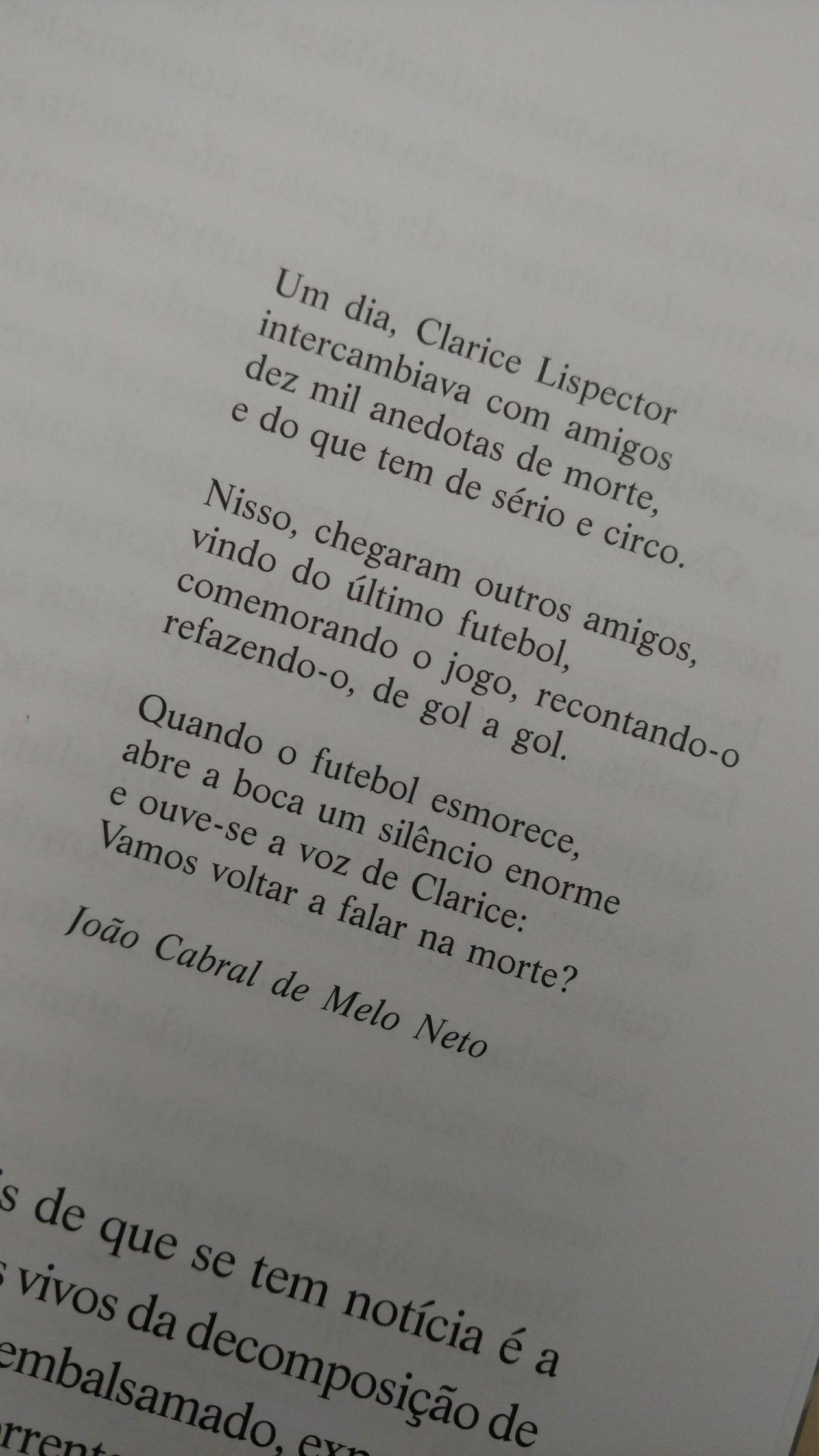 Muito poesia #claricelispector #poema #morte #literatura – Necro Relatos FU74